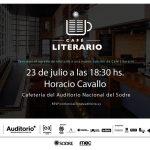 Café literario con Horacio Cavallo