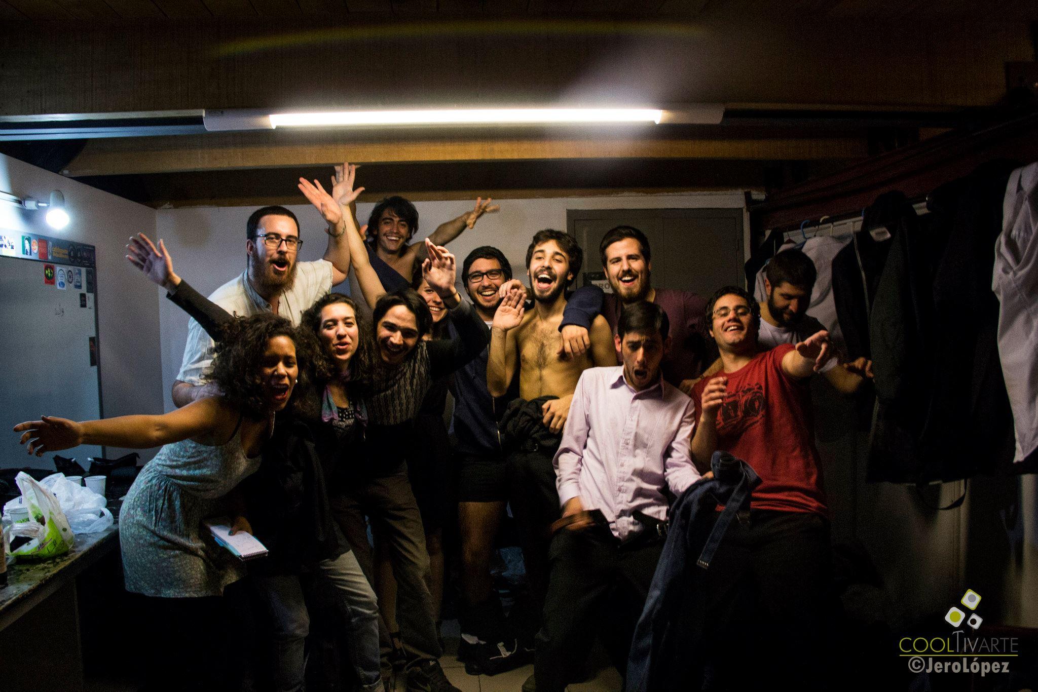 imagen - LA IMBAILABLE + SALADOS en Sala Zitarrosa - 14 de julio 2015 Foto © Jerónimo López