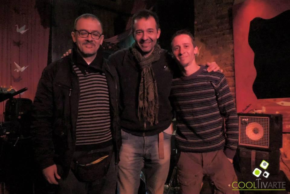 imagen - Nico Arnicho Trio · Los Carnavales del Mundo con Andrés Arnicho y Pablo Scarpa Tractatus 26 de Junio de 2015 Foto © Igor Chuff