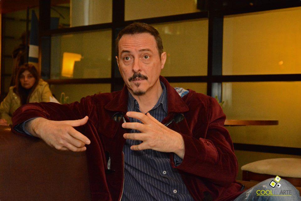 imagen - Entrevista con Pedro Aznar - Hotel Four Points - 13 de Julio 2015 Foto © Federico Meneses