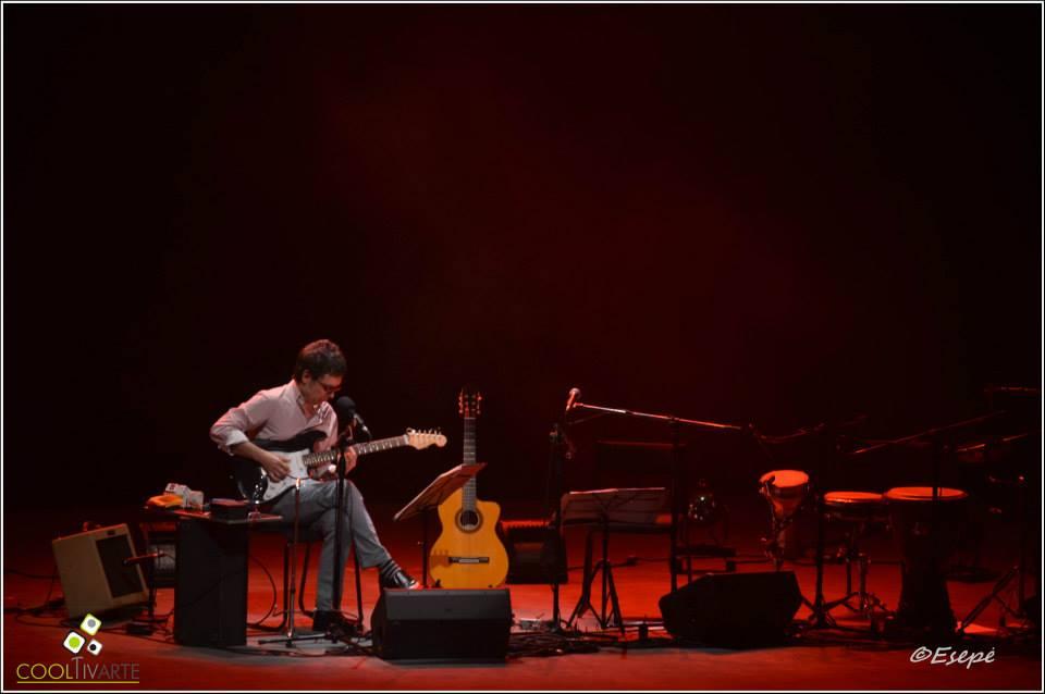 """cooltivarte - Fernando Cabrera """"Canta Mateo y Darnauchans"""" - Teatro El Galpón - 07 de agosto 2015 - Foto©Silvia Pedrozo"""