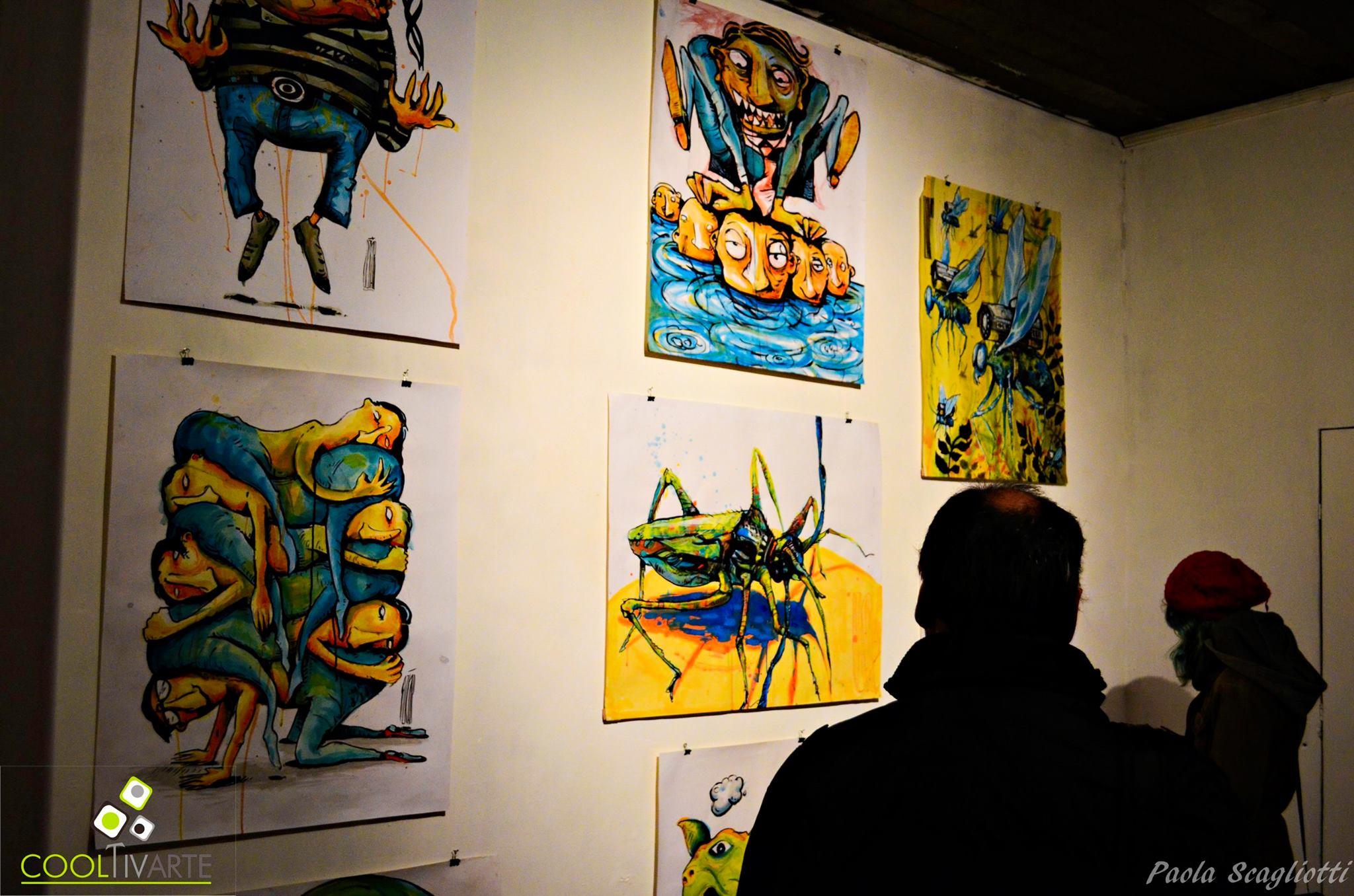 imagen - Un noche de música, poesía y exposiciones en Pera de Goma Foto: Paola Scagliotti
