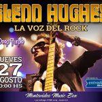 """GLENN HUGHES 2015 Solo Tour  """"la voz del rock vuelve a Uruguay"""""""