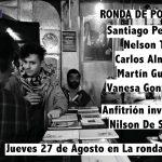 RONDA DE POETAS / jueves 27