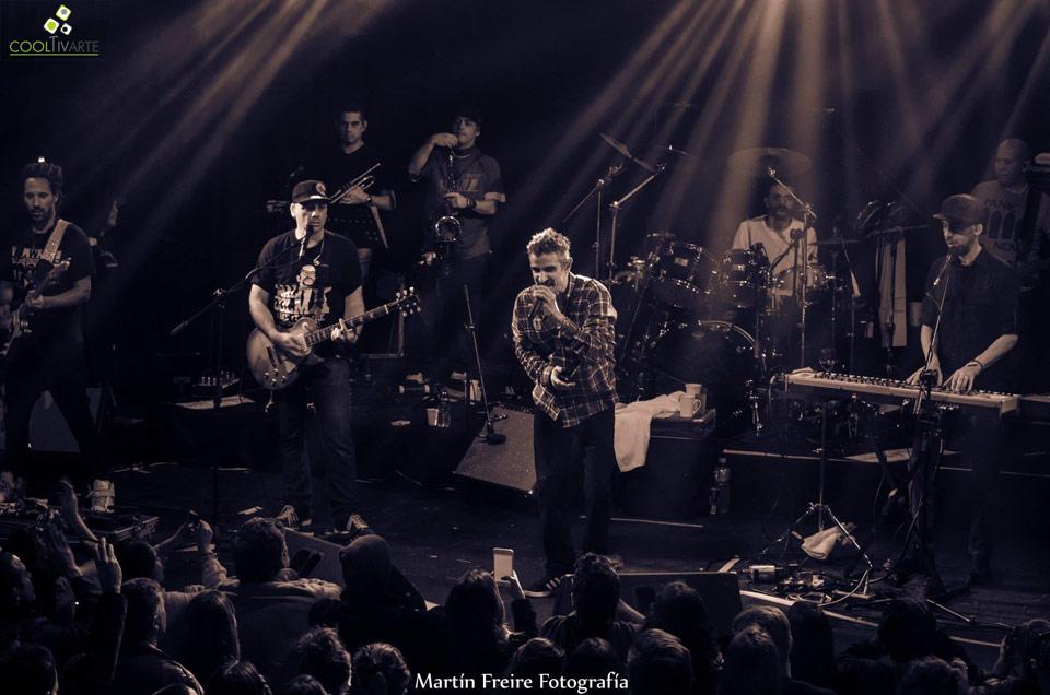 Los Cafres - 25 años de música - 12 de Setiembre 2015 - Montevideo Music Box Foto © Martín Freire Fotografia