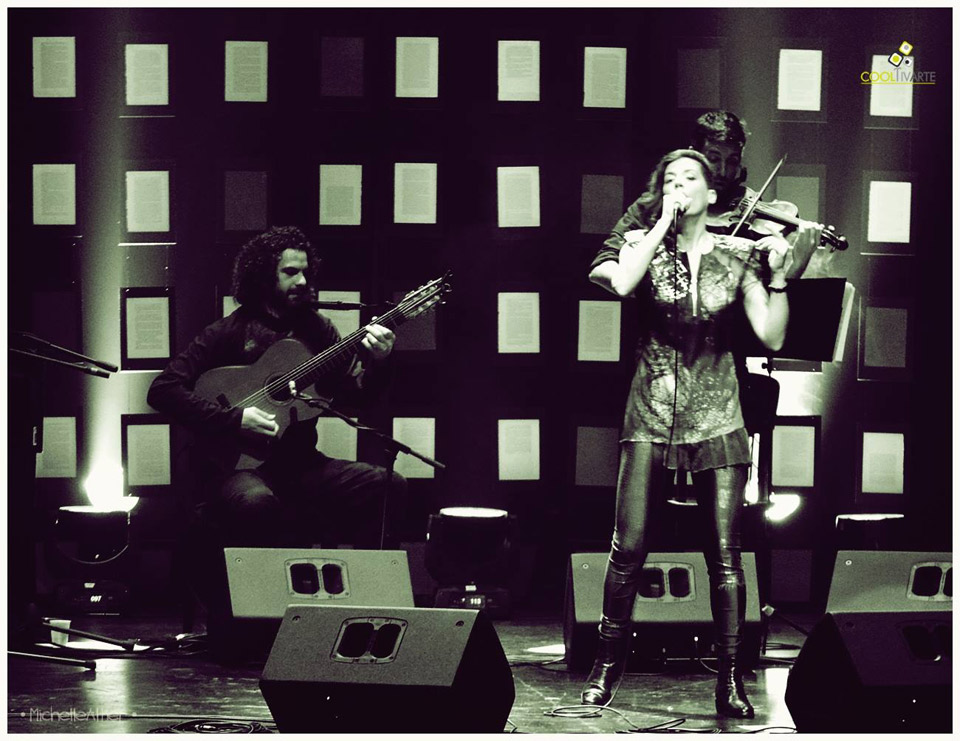 cooltivarte - Maia Castro | Sala Zitarrosa | 4 Setiembre 2015 Fotografias : Michelle Altier