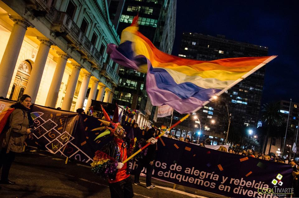 Marcha por la Diversidad / setiembre 2015 - Montevideo - Uruguay - Fotos © Lucía Aguirre