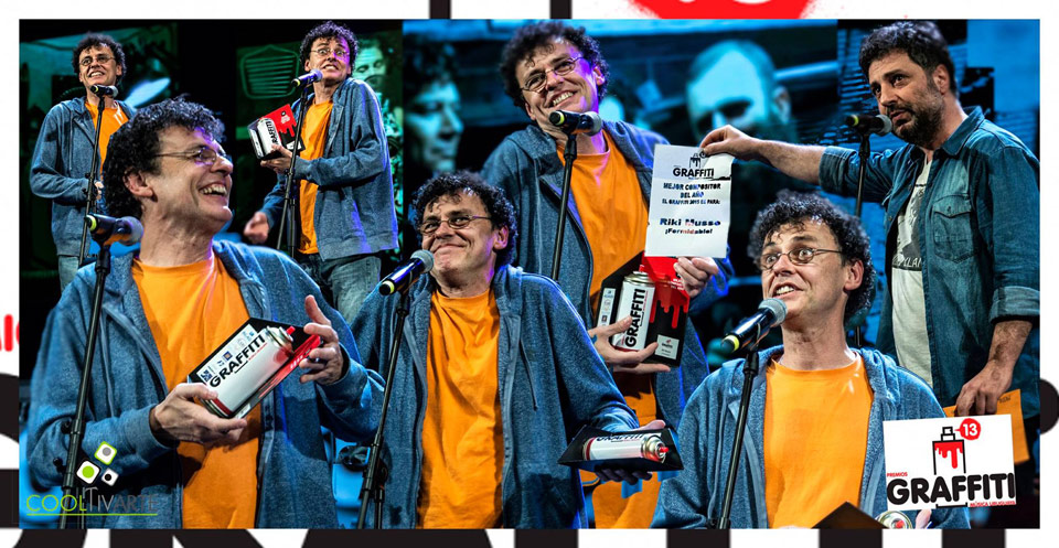 Premios Grafffiti 2015 - 22 de setiembre de 2015 en la Sala Eduardo Fabini del Auditorio Nacional Dra. Adela Reta - Foto © Martin Pereira