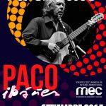 Paco Ibáñez se presenta en Auditorio Adela Reta del Sodre