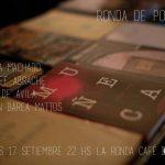 RONDA DE POETAS / jueves 17 / 21 a 24 hs. / melisa MACHADO – diego DE AVILA – youssef ABRACHE – MBM