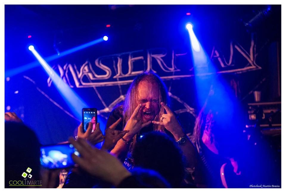 MASTERPLAN show INTIMO - BLUZZ LIVE - Martes 20 de Octubre - Foto @ Martin Pereira