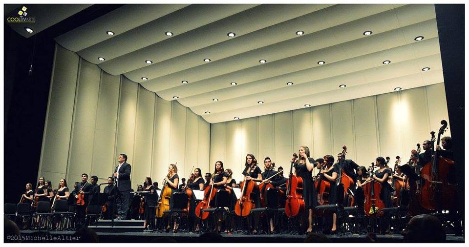 """Orquesta Juvenil del Sodre   Concierto """" A MI PAIS """"   16.Oct.15 Foto © Michelle Altier"""