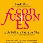 CONFUSIONES en Cine Universitario