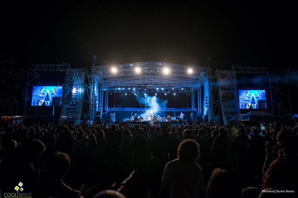Antel Fest 2015 Fotografia 16 de noviembre 2015 fray bentos foto Martín Pereira