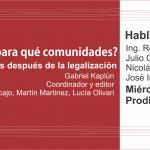 """Presentación libro """"¿Qué radios para qué comunidades?"""" – 9 de diciembre, 19hs"""
