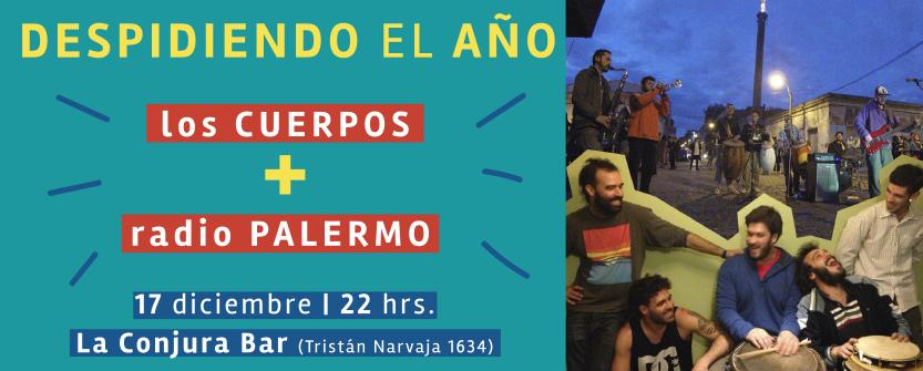 Los Cuerpos + Radio Palermo
