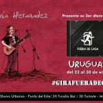 Julián Hernández Presenta su Tercer Álbum en Uruguay