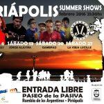 PIRIÁPOLIS SUMMER SHOWS 2a. edición febrero 2016