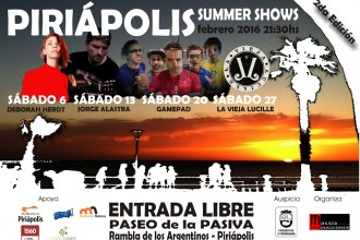 PIRIÁPOLIS SUMMER SHOWS 2