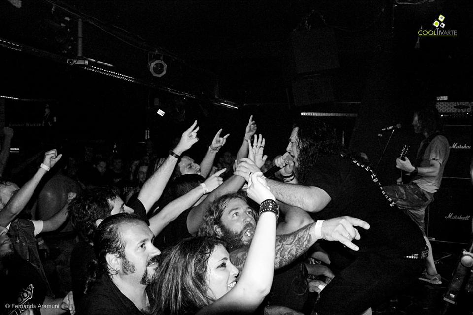TANKARD La Leyenda Germana del Trash Metal en Bluzz Live - Febrero 2016 - Foto Fernanda Aramuni