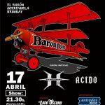 El Barón vuelve a Montevideo