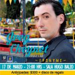 GREG CHEYNET presenta EPONYME