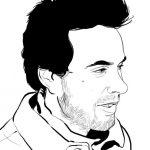 Martín Cerisola en Ronda de poetas 10 años en Colonia del Sacramento