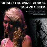 Oler a Tango, Primavera y Ciudad Vieja. Estefania Melonio perfuma la Sala Zitarrosa