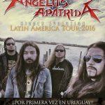 Angelus Apatrida por primera vez en Montevideo