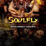 Soulfly en Montevideo