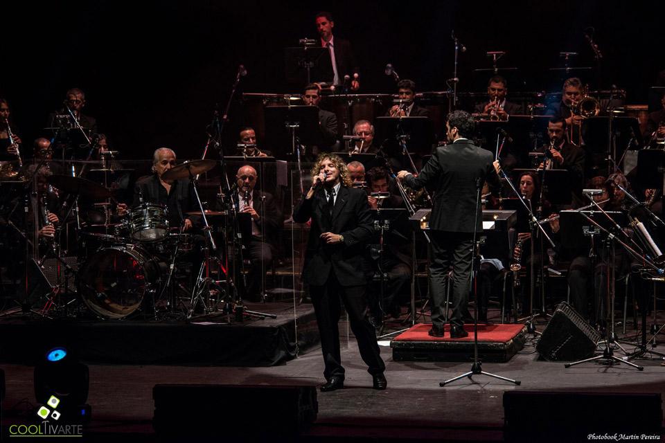 LOS IRACUNDOS y LA BANDA SINFÓNICA DE MONTEVIDEO en el Teatro de Verano 3 de abril 2016 Foto © Martín Pereira