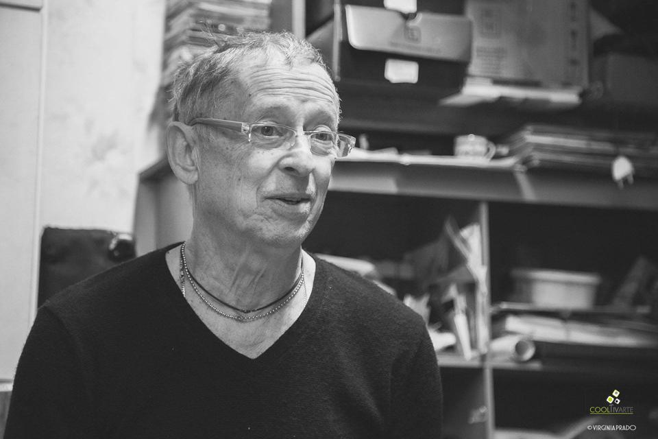 Entrevista a Hugo Fattoruso Oficial - Mayo 2016 - Montevideo - Fotografía: Virginia Prado