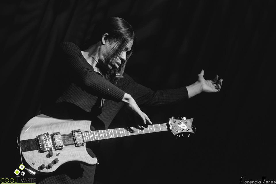 Stanley Jordan en La Trastienda Club Montevideo - 25 de junio del 2016 Fotografía: Florencia Veres
