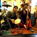 Dúo de guitarra y percusión: Entrevista con Albana Barrocas y Agustina Canavesi