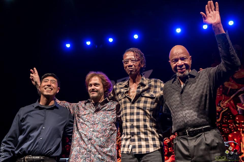 Alphonso Johnson Quartet - 28 de julio 2016 - Teatro Solís - Foto © Ricardo Gómez