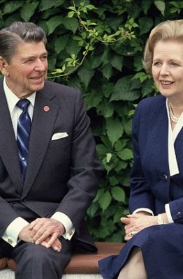 Reagan y Thatcher