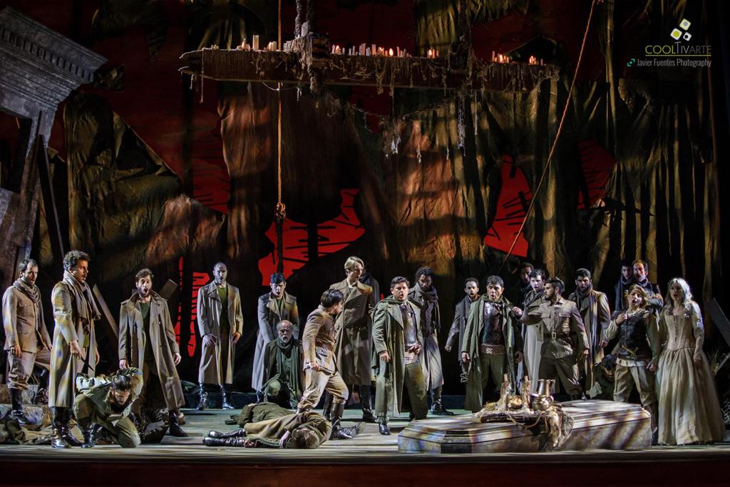 Ópera Capuletos y Montescos de Vincenzo Bellini. 11 de Septiembre de 2016. Foto © Javier Fuentes Photography