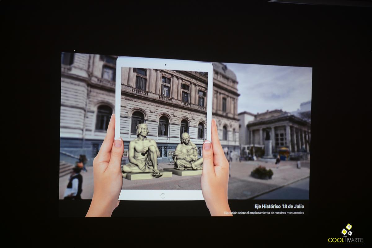 REALIDAD VIRTUAL Y AUMENTADA EN MONUMENTOS DE URUGUAY Por Fernando Foglino - Espacio de Arte Contemporáneo - 23 de setiembre de 2016 - Foto © Federico Meneses