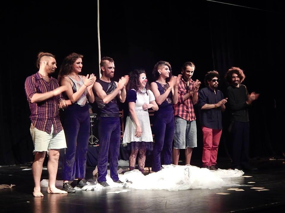 Cualkier Guayaba ADENTRO – Teatro Florencio Sánchez – El Cerro – 16 de octubre 2016 Foto © Mónica López