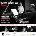 TECLA2 Domingo 6/11 en el Solís, no te pierdas el Dúo Nathan-Monetti
