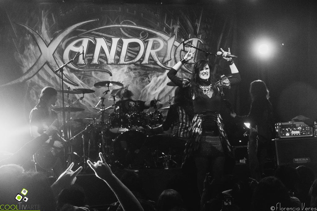 Xandria en Montevideo Music Box en 18 de octubre del 2016 Fotografía: Florencia Veres