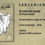 """Presentación del poemario """"El ceño del sueño"""", de Paulo Roddel"""