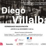 Diego Villalba Invitación Vernissage