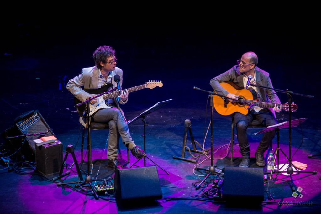 Gala Brecha - Fernando Cabrera cantando a Mateo y Darnauchans - 3 de diciembre2016 - Teatro Solís - Foto © Lucía Coppola