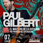 El maestro de la guitarra, entrevista a PAUL GILBERT