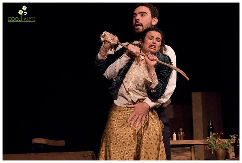 Teatro Julia - Una tragedia naturalista - Casa de la Cultura de Maldonado - enero 2017 - foto Servando Valero