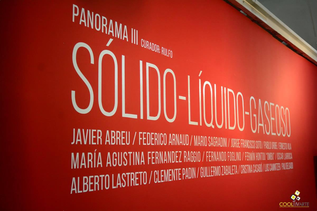 Inauguración / Panorama III / Sólido - Líquido - Gaseoso - Centro de exposiciones subte - 6 de diciembre 2017 - Foto © Federico Meneses