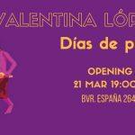 Exposición de Valentina López Aldao