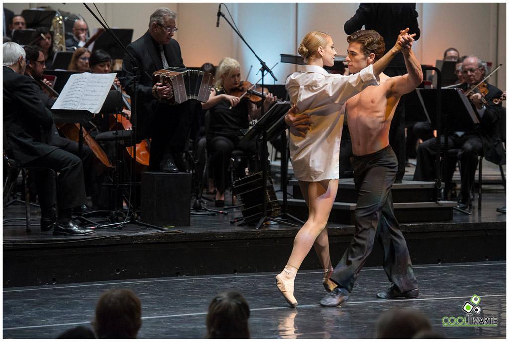 Gala 100 años de La Cumparsita - 20 de abril 2017 - Auditorio Nacional del Sodre Foto © Tarumán Corrales