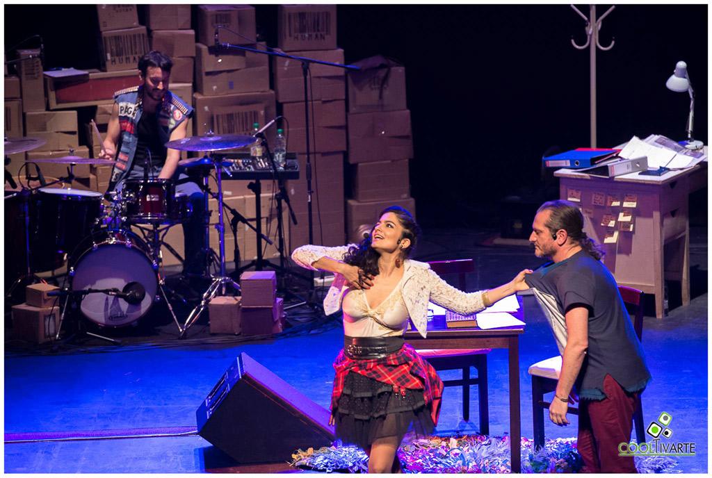 """DESENCAJADOS """"Filosofía + Música"""" en Montevideo - Sala Zitarrosa Mayo 2017 - Foto © Jimena Miguel"""
